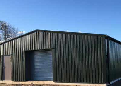 Golf club steel building