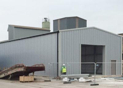Stock storage building