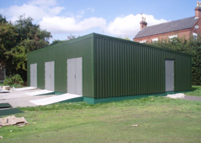 Community storage building