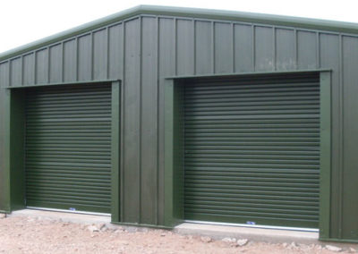 Domestic storage building