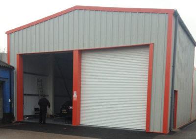 Vehicle repair garage