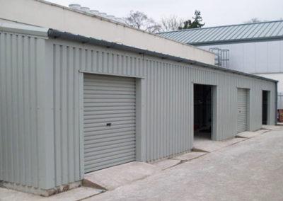 School storage building