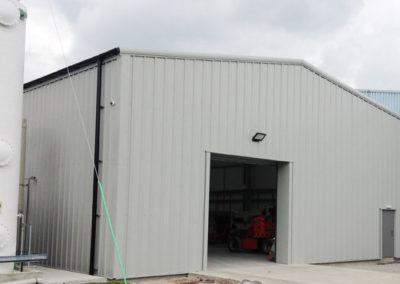 Industrial storage building