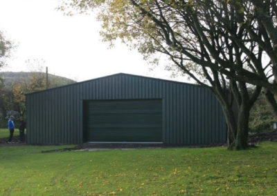 Golf club storage building
